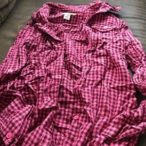 Other - Girls button up shirt